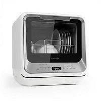 Klarstein Amazonia Mini, mosogatógép, 6 program, LED kijelző, ezüst