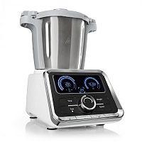 Klarstein GrandPrix konyhai robotgép, 500W/1000W, 2,5l nemesacél keverőtál, fehér