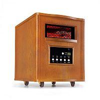 Klarstein Heatbox, infravörös fűtőkészülék, 1500 W, 12 órás időzítő, távirányító, tölgy
