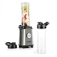 Klarstein Tuttifrutti mini mixer, 350 W, 600 ml, keresztpengék, BPA mentes, fémszínű