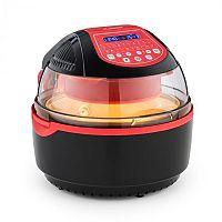 Klarstein VitAir Turbo Smart, meleglevegős fritőz, 1400 W, 10 l, 20 program, piros