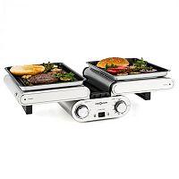 OneConcept Butterfly, multifunkciós grillsütő, asztali grillsütő, elektromos, 1200 W, 240 °C, időzítő