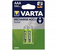 Varta Varta 56733 - 2 db tölthető elem SOLAR ACCU AAA NiMH/550mAh/1,2V