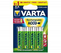 Varta Varta 5675 - 3+1 db Tölthető elem ACCU AA Ni-MH/2100mAh/1,2V