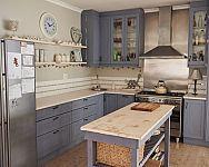 Vidéki stílusú lakberendezés. Hogyan rendezzük be a konyhát, nappali és a kertet?