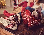 A rénszarvasos és hópihés karácsonyi zokni minden évben nagy sláger!