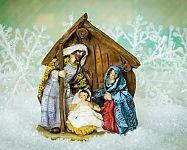 A Betlehem a karácsony szimbóluma. Közkedveltek a fából faragott és a megvilágított karácsonyi betlehemek.