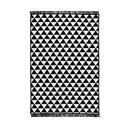 Apollon fekete-fehér kétoldalas szőnyeg, 140 x 215 cm