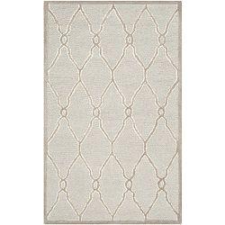Augusta krémszínű gyapjúszőnyeg, 91 x 152 cm - Safavieh