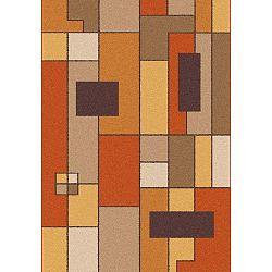 Boras Rust narancs-barna szőnyeg, 190 x 280 cm - Universal