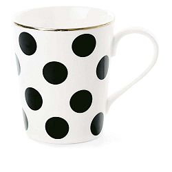 CoffeeBig Black Dots kerámia bögre, Ø 8 cm - Miss Étoile