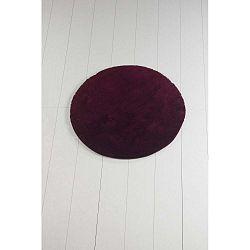 Colors of Cap sötétlila fürdőszobaszőnyeg, ⌀ 90 cm