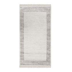 Deri Dijital Grey Framo bársonyszőnyeg, 80 x 300 cm