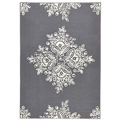Gloria Blossom szürke-fehér szőnyeg, 160 x 230 cm - Hanse Home