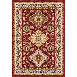 Khalil Red piros-bézs szőnyeg, 160 x 230 cm - Universal
