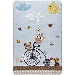 Kids Bike gyerekszőnyeg, 100 x 150 cm