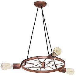 Min Wheel Flat Tres réz színű csillár - Glimte