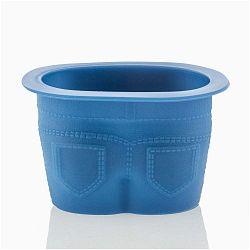 Nadrág formájú kék szilikon muffin sütőforma, 4 db - InnovaGoods
