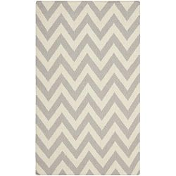 Nelli szürke gyapjú szőnyeg, 76 x 182 cm - Safavieh