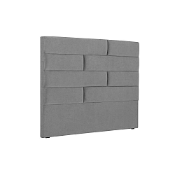 New York világos szürke ágytámla, szélessége 180 cm - Cosmopolitan Design