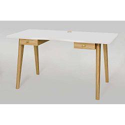 Nice íróasztal fehér asztallappal - Woodman