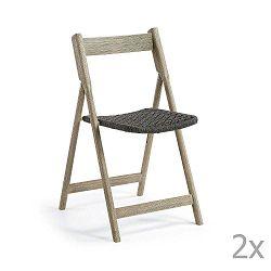 Picot összehajtható kerti székkészlet, 2 részes - La Forma