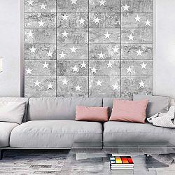 Stars On Concrete tapétatekercs, 0,5 x 10 m - Bimago