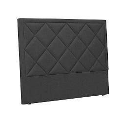 Superb sötétszürke ágytámla, 180 x 120 cm - Windsor & Co Sofas