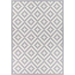 Viki Silver világosszürke kétoldalas szőnyeg, 100 x 160 cm - Narma