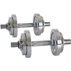 Egykezes kézisúlyzó inSPORTline 2x10 kg