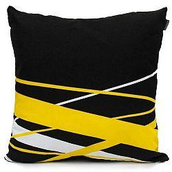 """Domarex Yellow Space Love párnahuzat """"POP ART"""", 45 x 45 cm"""