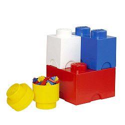 4 darabos tárolódoboz készlet - LEGO®
