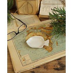 6 darabos kerámia tányér szett, hossz 7 cm - Orchidea Milano