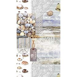 Abel strandtörölköző nyomtatott mintával, 100 x 180 cm - Good Morning