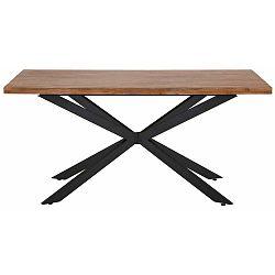 Adrian natúr mintás étkezőasztal, 160 cm - Støraa