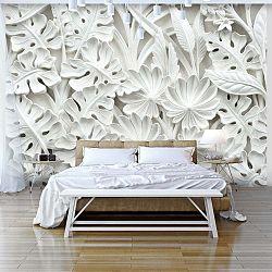 Alabaster Garden nagyméretű tapéta 300 x 210 cm - Artgeist