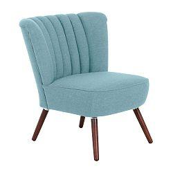 Alessandro türkiz színű fotel - Max Winzer