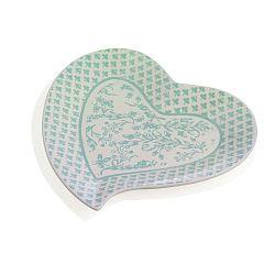Alice szívformájú porcelán tálca - Brandani