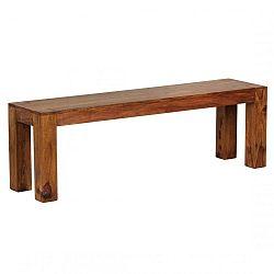 Alison ülőpad tömör paliszander fából, hossza 140 cm - Skyport