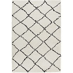 Allure Ronno Black White fekete-fehér szőnyeg, 160x230cm - Mint Rugs
