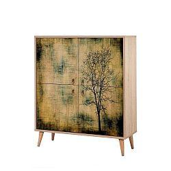 Ananias Tree szekrény, magasság 111cm