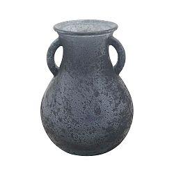Anfora kék újrahasznosított üveg váza, ⌀ 11,5 cm - Mauro Ferretti