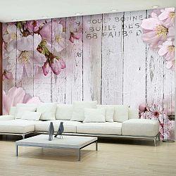 Apple Blossoms nagyméretű tapéta, 300 x 210 cm - Artgeist