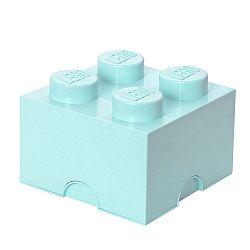 Aqua kék tároló doboz 4 - LEGO®