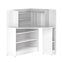 Archi fehér sarok íróasztal - Symbiosis