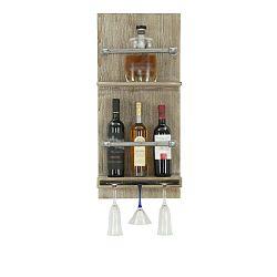 Bar fali üveg- és pohártartó, 76 x 34 cm - Mauro Ferretti