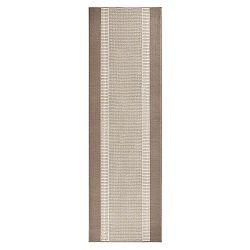 Basic szőnyeg, 80x500 cm, bézs - Hanse Home
