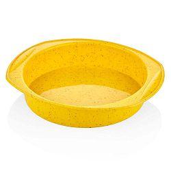 Baton citromsárga szilikon sütőforma, ⌀ 29 cm - The Mia