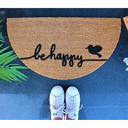 Be Happy lábtörlő, 70 x 40 cm - Doormat