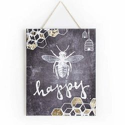 Bee Happy kép 40 x 50 cm - Graham & Brown